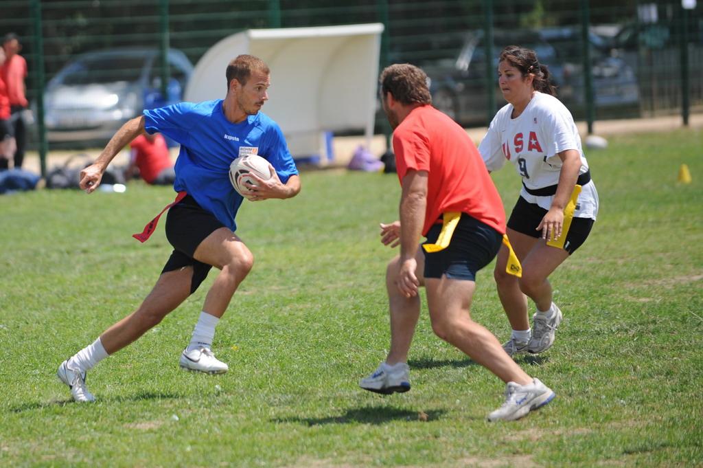 Geschiedenis van touch rugby